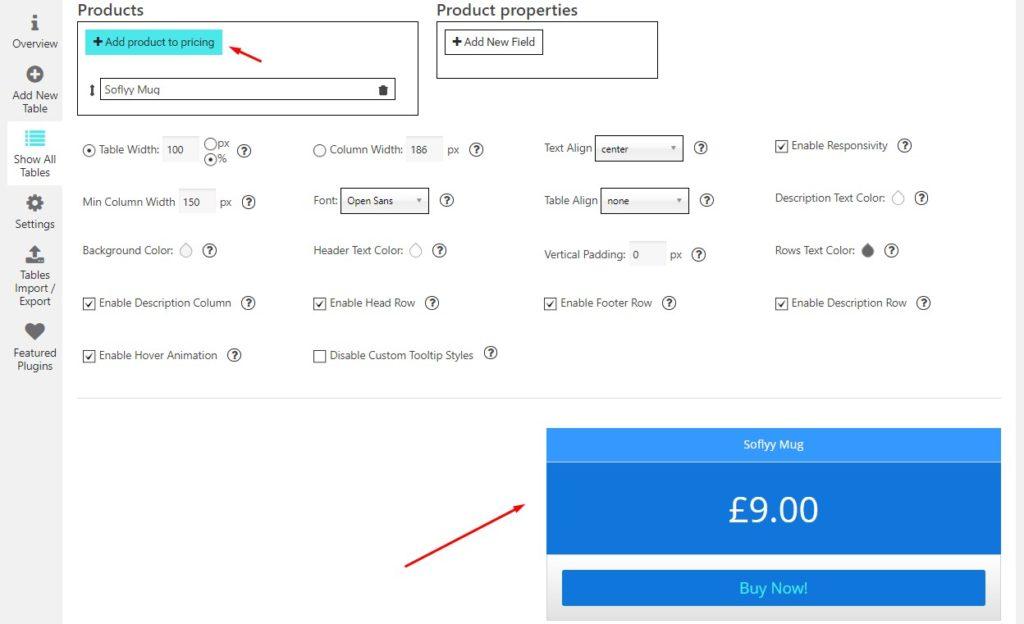 Product_properties