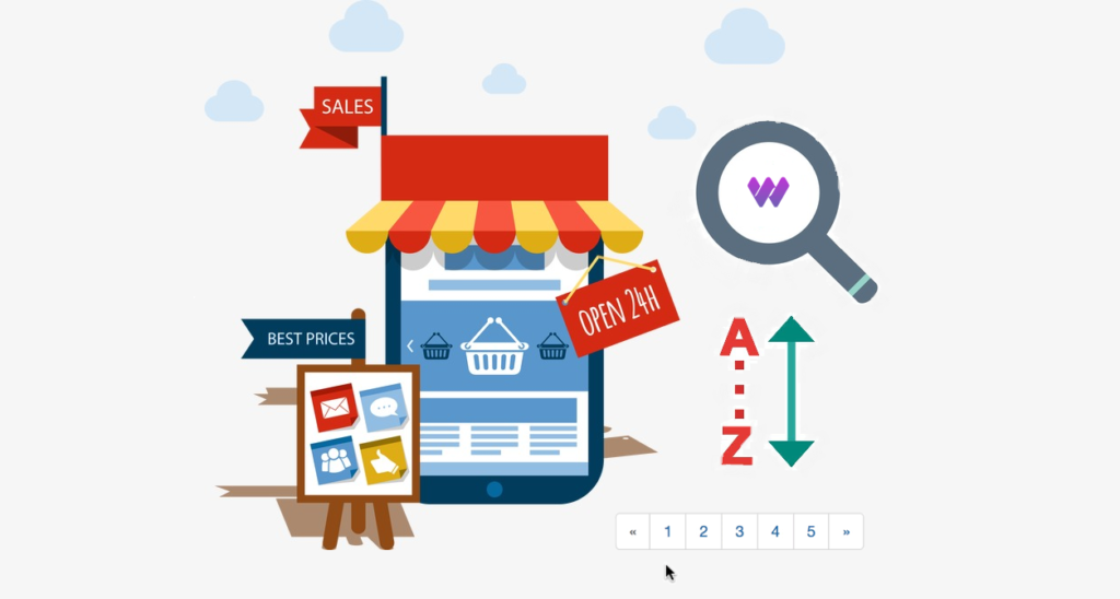 Pagination Searching Sorting Product Table