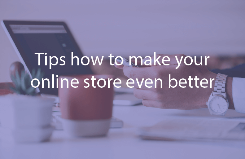 how to make online store better