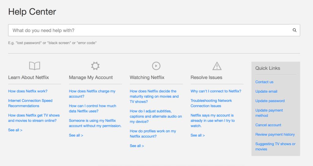 Netflix-FAQ
