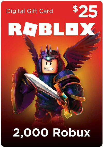 Roblox Gift Card 2 000 Robux WooBeWoo