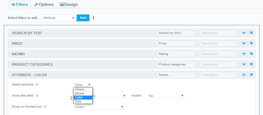 Select Atribute